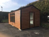 Modern cabins insulated