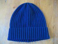 Muji Wool wide knit beanie, NEW