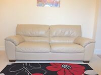 Natuzzi leather sofa couch suite