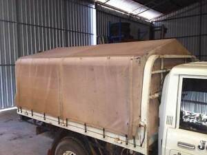 CANOPY FRAME & CANVAS COVER FOR DROP SIDE UTE TRAY Canning Vale Canning Area Preview