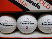 "PENFOLD "" Commando "" GOLF BALLS ---------- ( New / Unused / Boxed )"