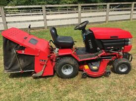 Westwood T1800 2003 model with powered grass collector.