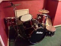 2 drum kit sets