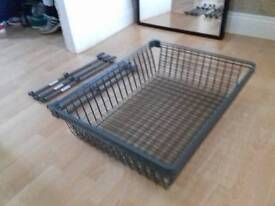 3 ikea mesh pull out trays and rails