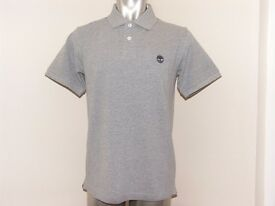 Timberland Earthkeepers pique polo shirt,Mens size Small.BNWT