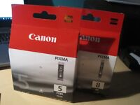 Canon Pixma BLACK INK cartridges