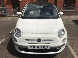 Fiat 500 1.2 LOUNGE With Panoramic Roof & Digital Dash - 1 Previous Owner, MOT & Service 2018