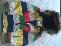Ski Jacket (Boden) Child 9-10yrs Striped