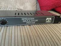 Palmer PDI-03 Speaker Simulator Load Box