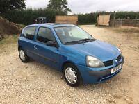 Renault Clio 1.2 3 Door 77k not saxo 206 106 VW golf polo lupo Ibiza Leon Ford Fiesta Vauxhall corsa