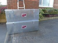 galvanised steel tool chest