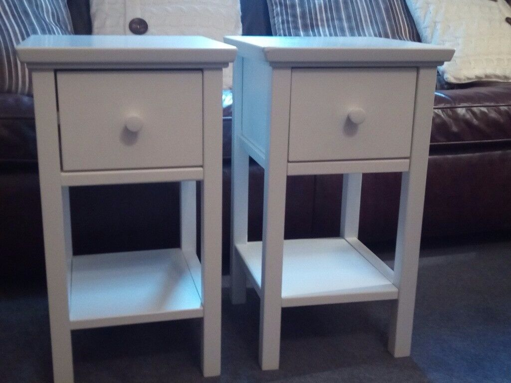 2x Wilton Bedside Tables