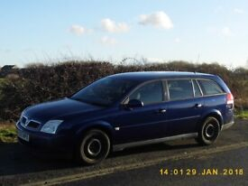 vauxhall vectra 1.9cdti estate diesel