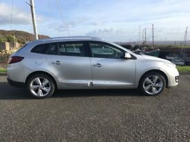 62 REG Renault Megane sports tourer diesel estate