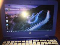 Blue HP netbook