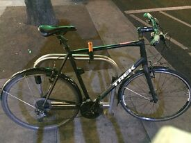 £200ono Trek hybrid 7.3FX 18 months of use. Theft preventing wheel bolts and spanner and mudguards