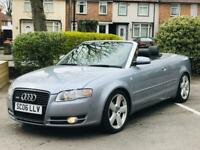 AUDI A4 S LINE BLACK EDITION CABRIOLET CONVERTIBLE 2.0 TDI 2007 DRIVES GOOD NO PROBLEMS PX WELCOME for sale  Acocks Green, West Midlands