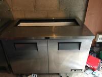 Stainless steel cupboard (refrigerated spares or repair)