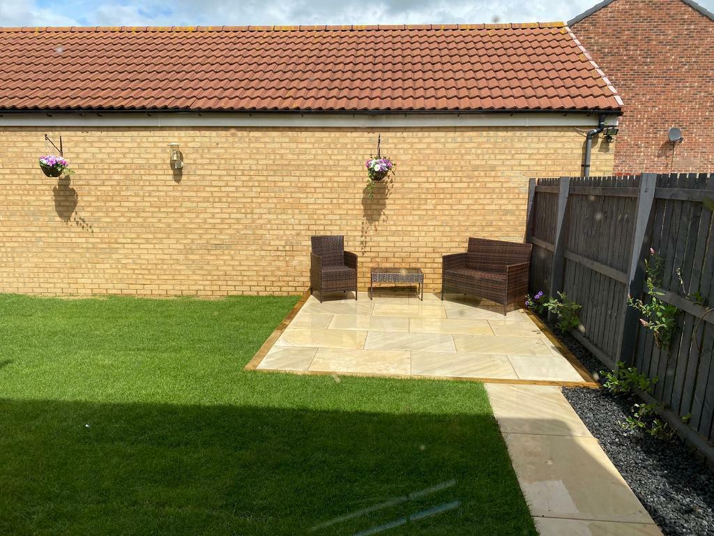 Brown Rattan Garden Furniture Set Sofa | in Durham, County ...