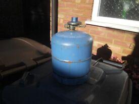 2 x calor gas camping bottles