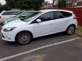 Ford Focus 1l Ecoboost 2013 White