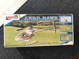 Aero hawk radio controlled helecopter