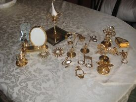 24k gold plated ornaments