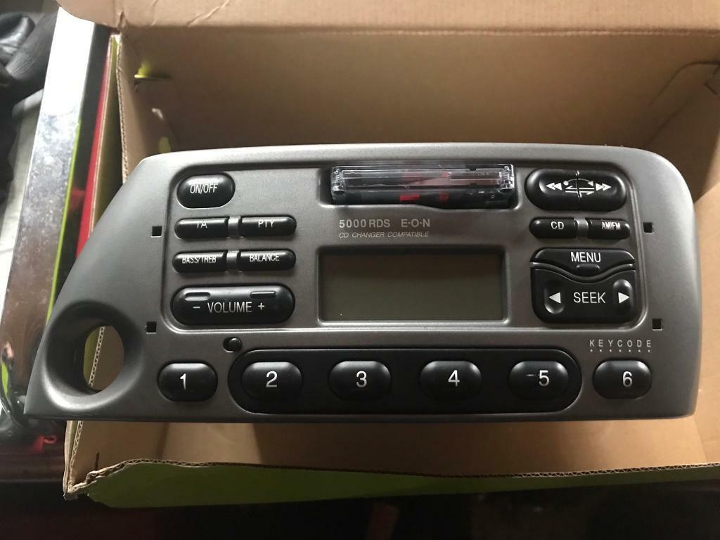 Ford Ka   Car Radio Cassette Player Stereo Grey Without Code