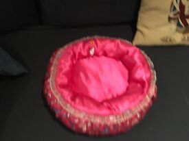 Build a bear pink padded pet bed lovely Christmas present