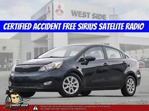 2013 Kia Rio LX–Accident Free–Satellite Radio–