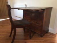 Georgian Mahogany Desk