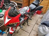 Honda CBR125 Black/Red