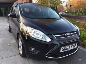 2012 Ford c max 1.6 petrol 5dr 12 MOT service history 26000 mileage, One former keeper, 2 key,