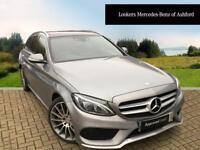 Mercedes-Benz C Class C250 BLUETEC AMG LINE PREMIUM PLUS (silver) 2015-03-23