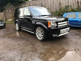 LAND ROVER DISCOVERY 3 HSE STORMER EDITION SPORT FULLY LOADED 2.7 TDV6 FSH RANGE 4x4 X5 X6 3.0 TDI