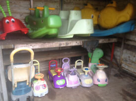 Selection of childrens toys