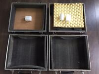 2 x Turntable Flight Cases - For Technics 1210 / 1200 & More - Can Post with UPS, and accept PayPal