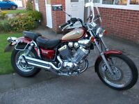 Yamaha Virago 535, 2001. mot April 2017. Excellent condition.