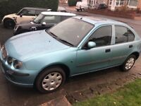 Rover 25 low mileage