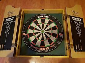 Unicorn dart board, (phil taylor)