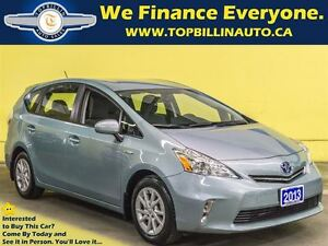 2013 Toyota Prius v Back-up Camera, Full Service Records