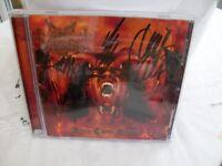 Dark Funeral signed CD.