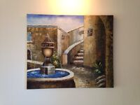 Oil on Canvas Painting -CLEARANCE