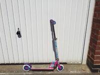 Shopkins folding scooter