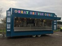 18ft Catering Trailer in good condition