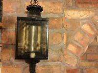 Antique Coach lanterns (for candle light)