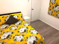 Large Double Rooms available NOW 10 mins walk to Amazon Depot in Tilbury RM18