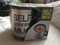 Brand new self stirring mug