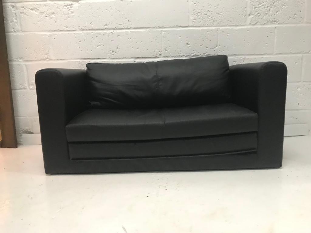 Small Black Sofa Bed