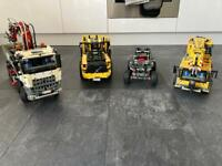 Lego Technic and Meccano Vehicle Bundle